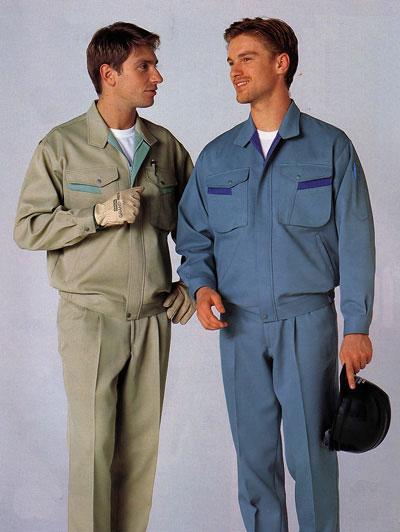 夏季长袖工作服