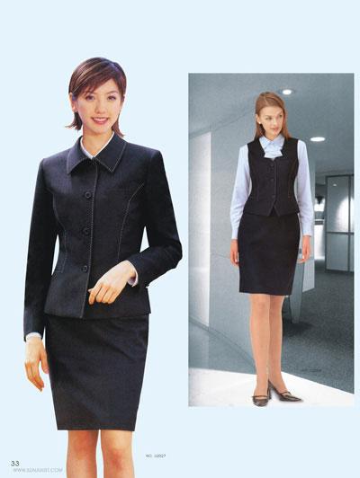 时尚商务女士西服
