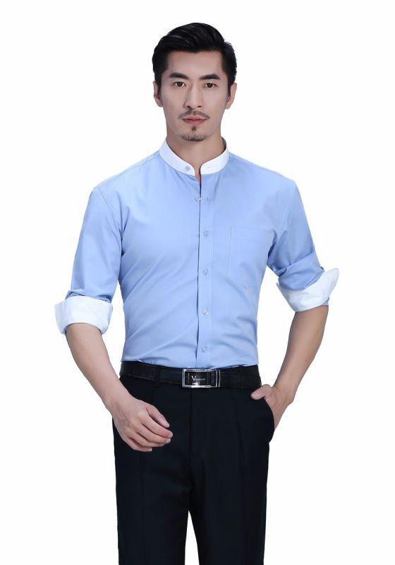 男士短袖衬衫的时尚穿搭技巧