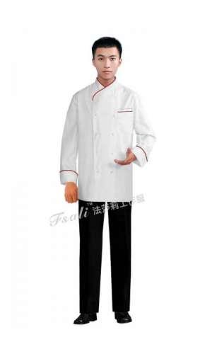 酒店厨师工服发黄了该如何避免