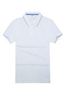 定制polo衫制作LOGO工艺刺绣的好还是印刷的好?