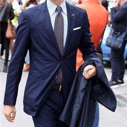 企业为什么要选择定制西装?